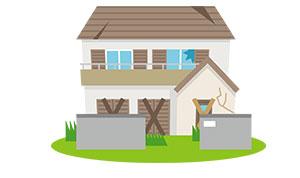 建物の賃貸利用で、経年劣化の進行を軽減することが可能です。